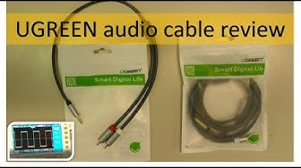 Video #3: UGREEN audio cable