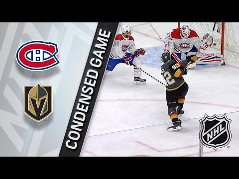02/17/18 Condensed Game: Canadiens @ Golden Knights