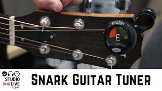 Snark Guitar Tuner - Keep you guitars and bass guitars in tune with the portable Snark SN-5 Tuner