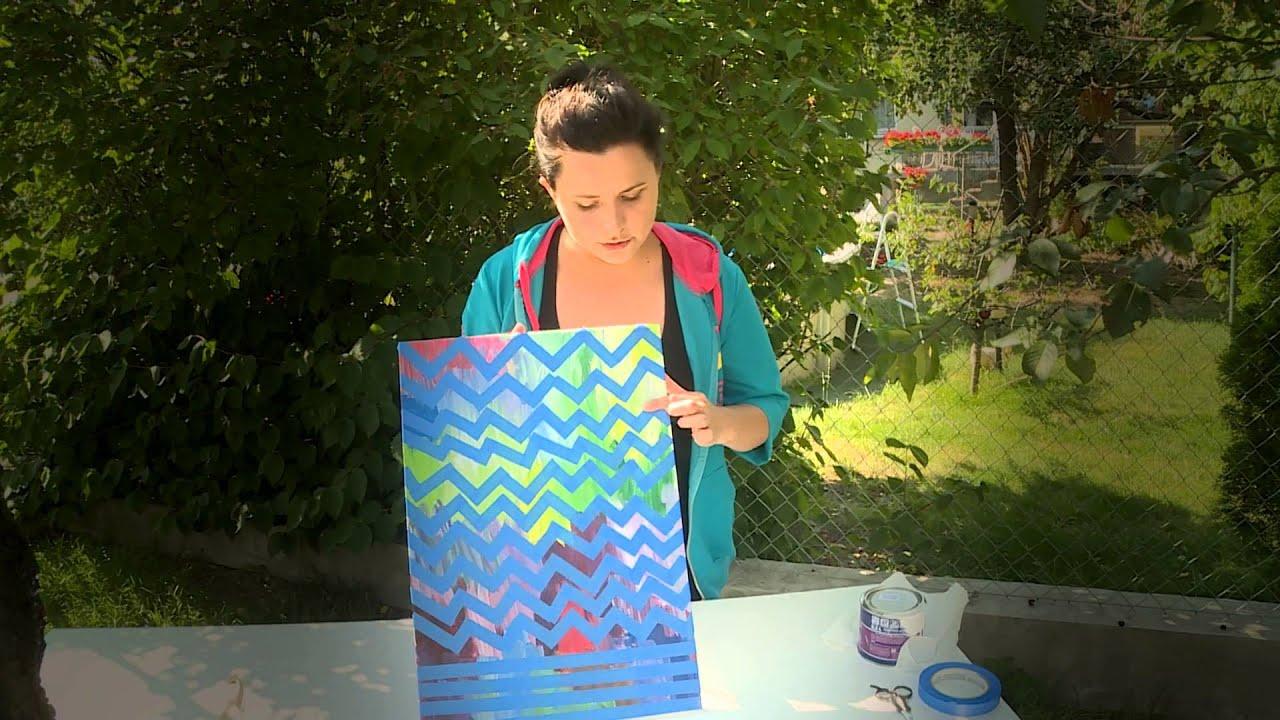 Jak wykonać obraz olejny na dekorację do domu