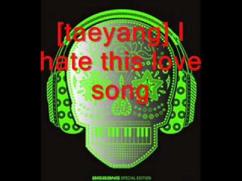 Big Bang - Love song [lyrics]