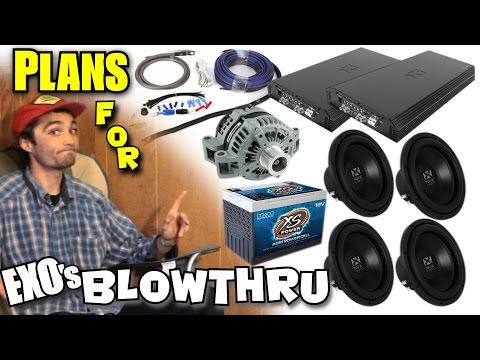 Choosing The BEST Car Audio Setup For YOU! Planning For a LOUD Bass System w/ EXOs NVX TRUCK Build