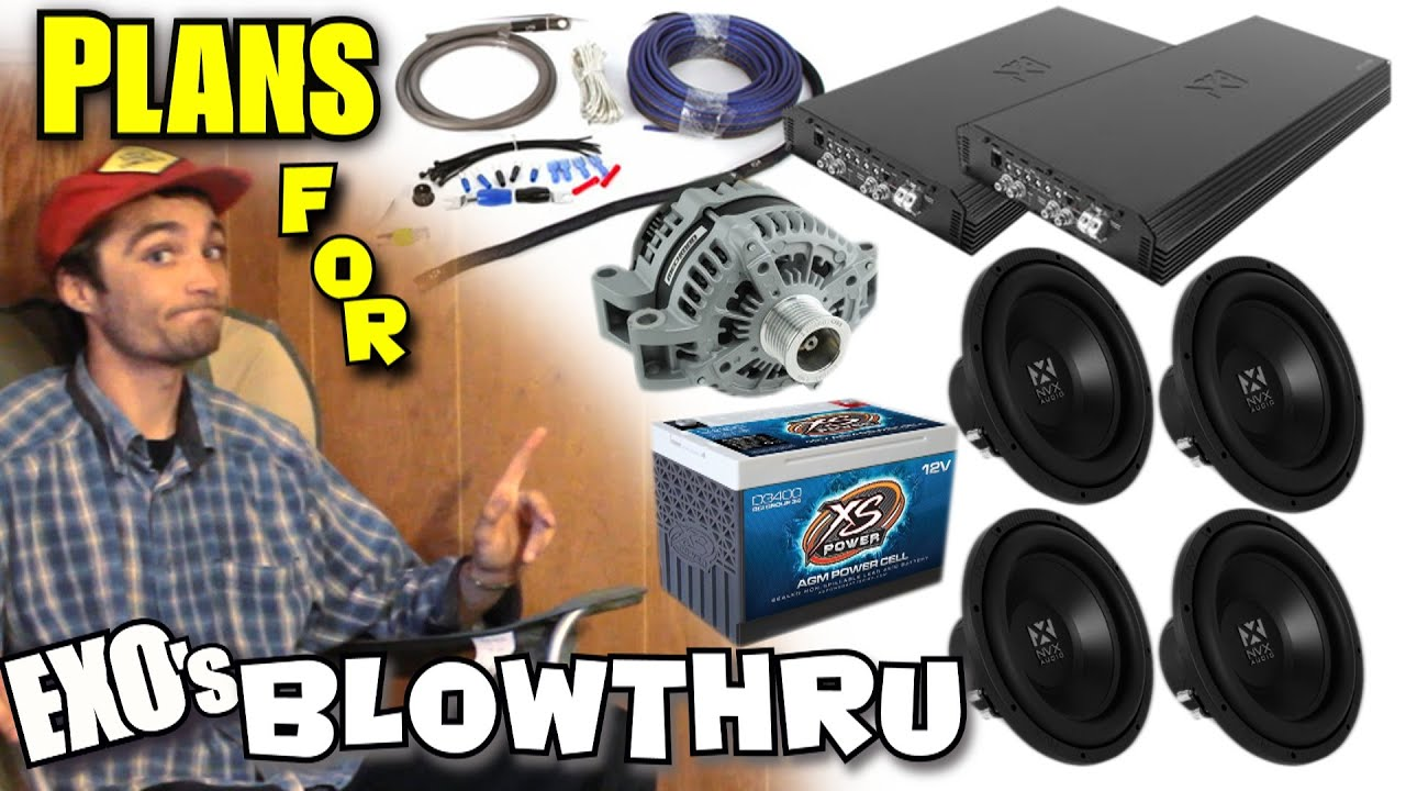 Choosing the best car audio setup for you planning for a loud bass system w exos nvx truck build youtube