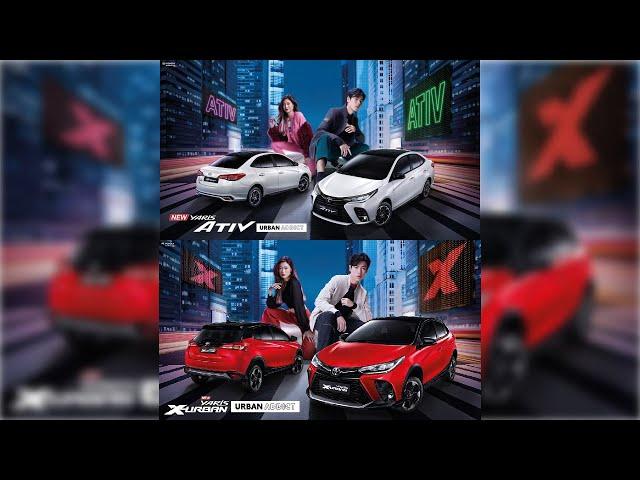 Toyata Yaris& Yaris ATIV 2021 เปิดตัวใหม่ มีอะไรบ้าง!!