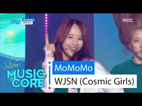 [HOT] WJSN (Cosmic Girls) – Mo Mo Mo, 우주소녀 – 모모모 Show Music core 20160430