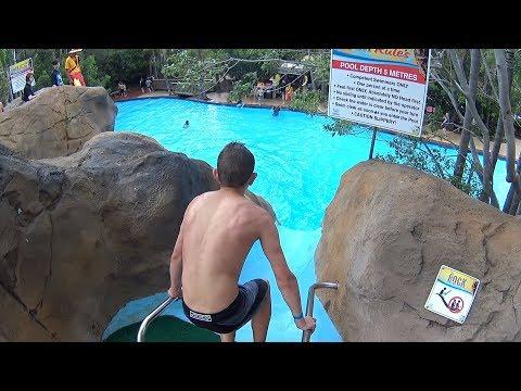 Rock Water Slide at Jamberoo Action Park