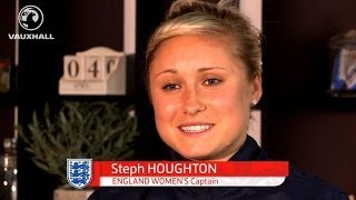 STEPH HOUGHTON ANNOUNCED AS ENGLAND CAPTAIN: Watch her exclusive first interview here