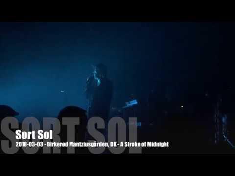 Sort Sol - A Stroke of Midnight - 2018-03-03 - Birkerød Mantziusgården, DK