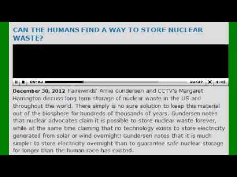 Absurd Nuclear Waste Storage Problems w/ Arnie Gundersen