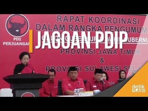 Hadirin Sekalian, Inilah Cagub PDIP di Sulsel dan Jatim!