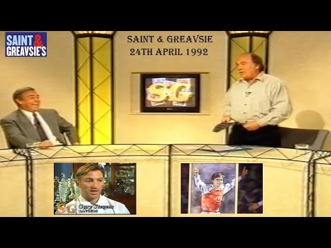 SAINT AND GREAVSIE- 25TH APRIL 1992 - ITV FOOTBALL PROGRAMME - FINAL EPISODES