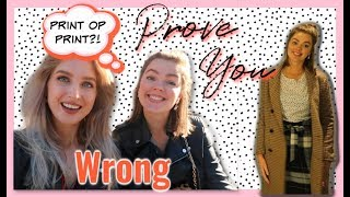 STYLING SESSIE MET ELIZE 👗 PROVE YOU WRONG #2   Sarah Rebecca