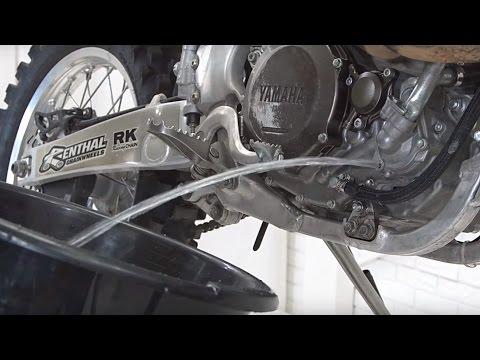 Замена Антифриза Yamaha WR450F 2012