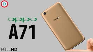 Oppo A71 -  13MP Camera, 3GB RAM & More Detailed Specs In Hindi