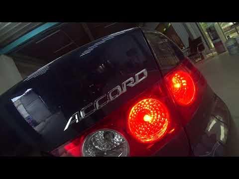 Honda Accord замена штатных линз