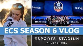 Behind the Scenes at the ECS Season 6 Finals - Texas Vlog