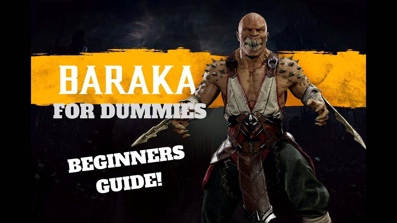 Getting to Know Baraka! - Mortal Kombat 11 Character Guide (For Beginners)