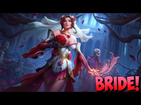 NEW PERSEPHONE BRIDE SKIN COMES TO SMITE! MARRIED TO DUEL! - Masters Ranked Duel - SMITE