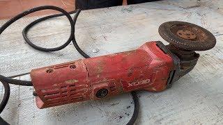 Відновлення старого іржавого заліза різак машини   ручки відновити різання