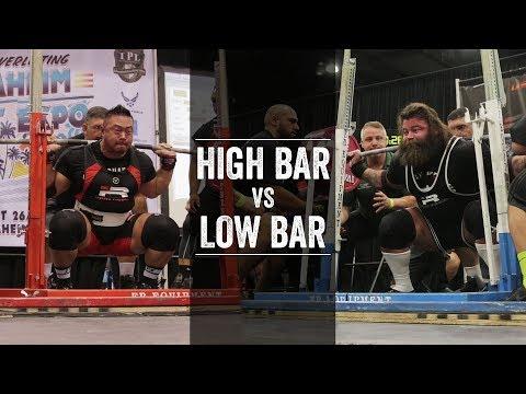 High Bar vs Low Bar Squat | JTSstrength.com