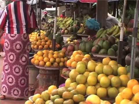 Guinée: Petit marché kaporo rails (Conakry, le 25 juillet 2013)