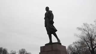 Скульптура: Зоя Космодемьянская. Памятник в Парке Победы на Московском проспекте в Санкт-Петербурге.