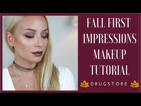 Φθινοπωρινό Drugstore Μακιγιάζ πρώτων εντυπώσεων | Gina