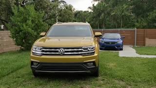 Volkswagen Atlas SE Radio Overview Android Auto