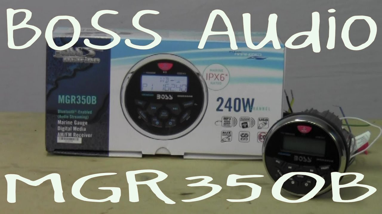 medium resolution of boss audio mgr350b out of the box