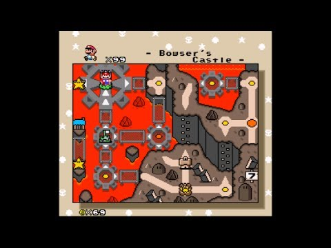 [SMW Hack - JUMP (Janked Up Mario Party)] - Bowser's Castle -