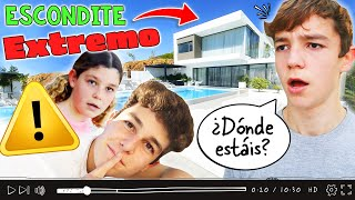⚠ ESCONDITE EXTREMO en CASA de THE CRAZY HAACKS 🏡 ¡Mateo DESAPARECE! (Parte 1) + HOUSE TOUR