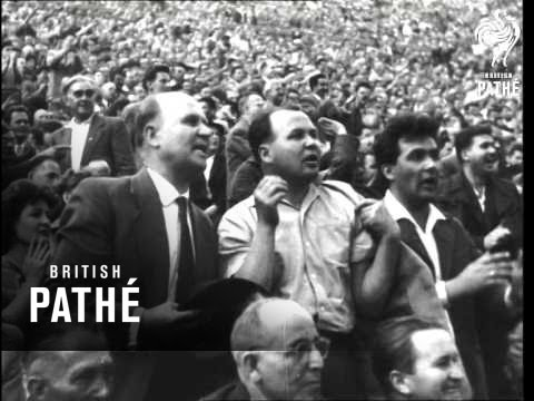 Hungary 2 - England 0 - International Football In Budapest (1960)