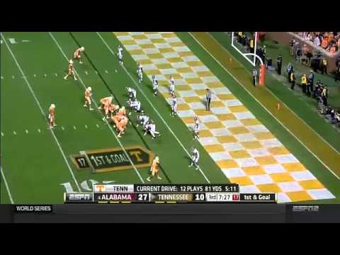 #4 Alabama vs Tennessee 2014