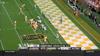 #4 Alabama vs Tennessee 2014