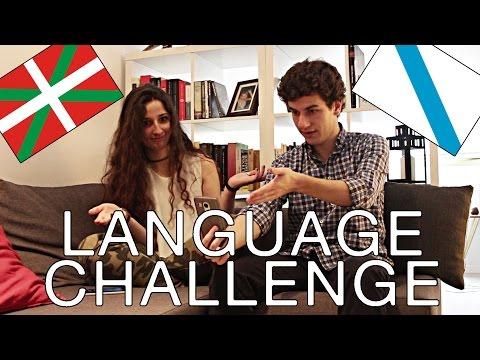 GALEGO VS EUSKERA | Reto de los idiomas: expresiones típicas (español con subtítulos)