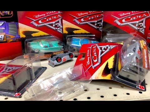 New Disney Cars 3 Toys Hunt Radiator Springs Classics - We Found Primer Lightning McQueen TORN OPEN!