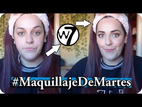 MAQUILLAJE DE MARTES (Probando W7 y charlando sobre Youtube) // MimiXXL
