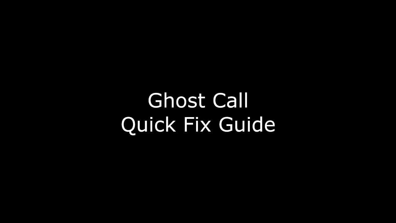 A fix for Ghost Calls on Grandstream