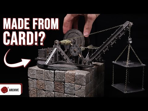 Crafting A Working Crane For D&D, 40k, AOS Or Necromunda