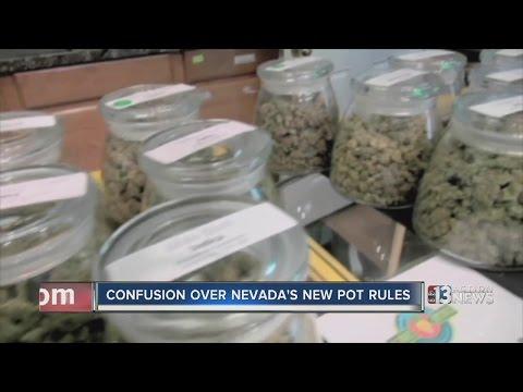 Questions as recreational marijuana legal in Nevada Jan. 1