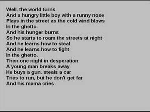 elvis and lisa marie - in the ghetto
