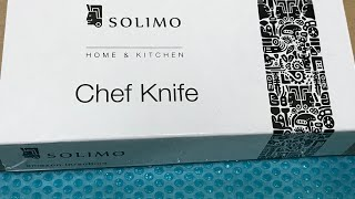 Solimo Chef Knife Unboxing and Milton Medical Box