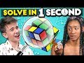 Try To Solve in One Second Challenge (Hardest Puzzles)