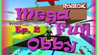 ROBLOX | Mega Fun Obby Teil 2 | Pizza-Level | SallyGreenGamer