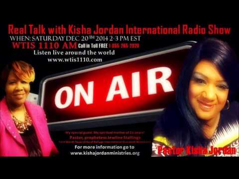 Real Talk With Kisha Jordan RADIO SHOW - Special Guest (Jeweline Stallings)