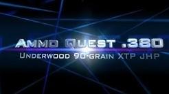 Ammo Quest .380: Underwood XTP test through ClearBallistics and ballistic gelatin