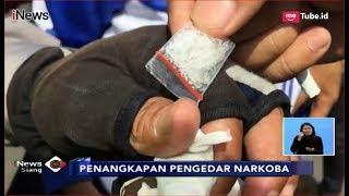 Polisi Ringkus Pengendara Motor Pengedar Narkoba saat Gelar Razia Lalu Lintas - iNews Siang 06/12