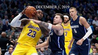 Los Angeles Lakers vs Dallas Mavericks Full Game Highlights [December 1, 2019 20 NBA Season]