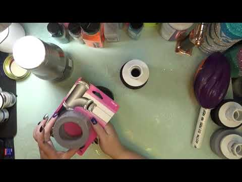 Cup Turner accessory (ditch the foam footballs) |My Life in Arts n Crafts
