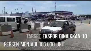 Ekspor Toyota Indonesia Capai 1 Juta Unit